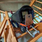 CargoMaster-CC200 Subiendo escaleras